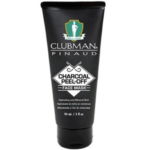 CLUBMAN PINAUD CHARCOAL PEEL-OFF FACE MASK 3 OZ - Palms Fashion
