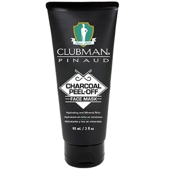 CLUBMAN PINAUD CHARCOAL PEEL-OFF FACE MASK 3 OZ - Palms Fashion Inc.