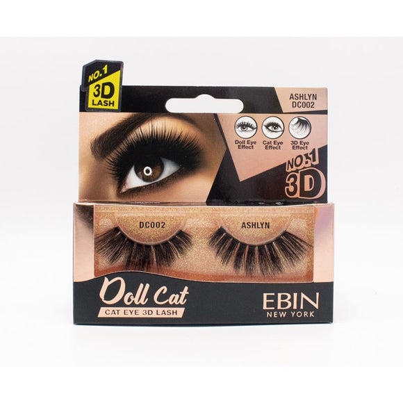 EBIN 3D Eyelash Doll Cat - 12  Kinds - Palms Fashion