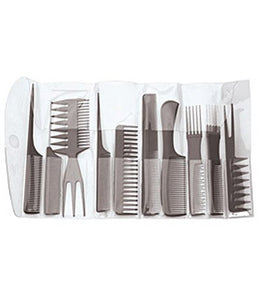 Diane 10-Pack Comb Set - Palms Fashion Inc.