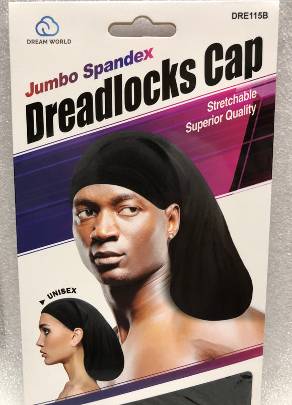 Dream Spandex Dreadlock Cap #115B - Dozen Pack - Palms Fashion