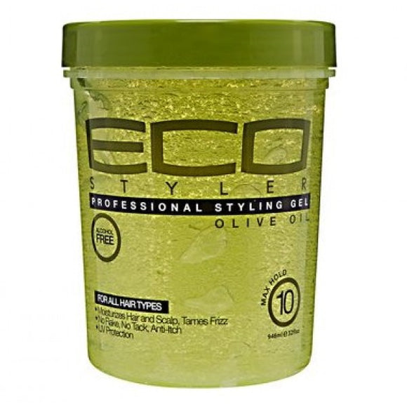 ECO STYLER OLIVE OIL STYLING GEL 32OZ - Palms Fashion Inc.
