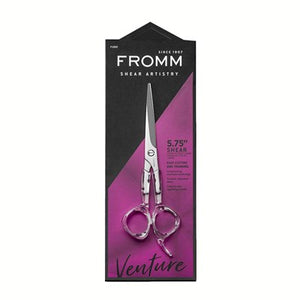"Fromm Shear Artistry Venture 5.75"" Shear Easy Cutting and Trimming Barber Scissors - Palms Fashion"