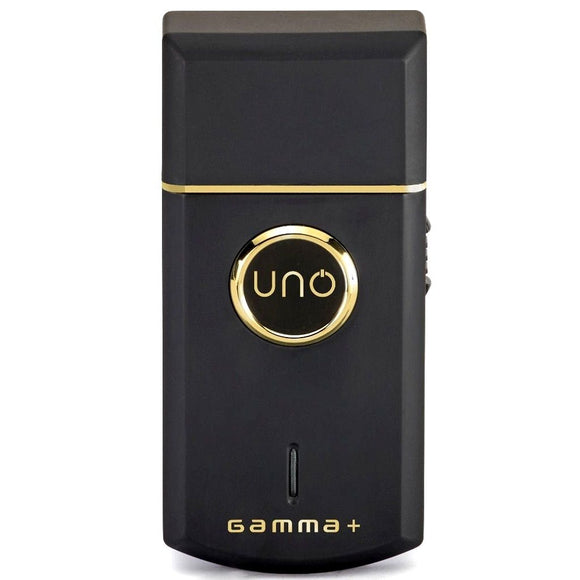 Gamma+ Uno Professional Lithium-Ion Single Foil Shaver - Black