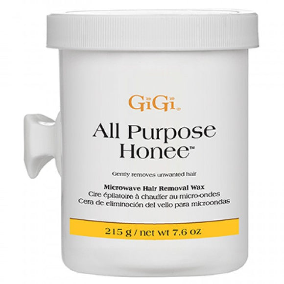 GIGI ALL PURPOSE HONEE WAX MICROWAVE FORMULA 8 OZ #0365 - Palms Fashion Inc.
