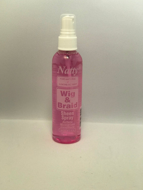 Natty Hair Wig & Braid Sheen Spray - 4 oz - Palms Fashion