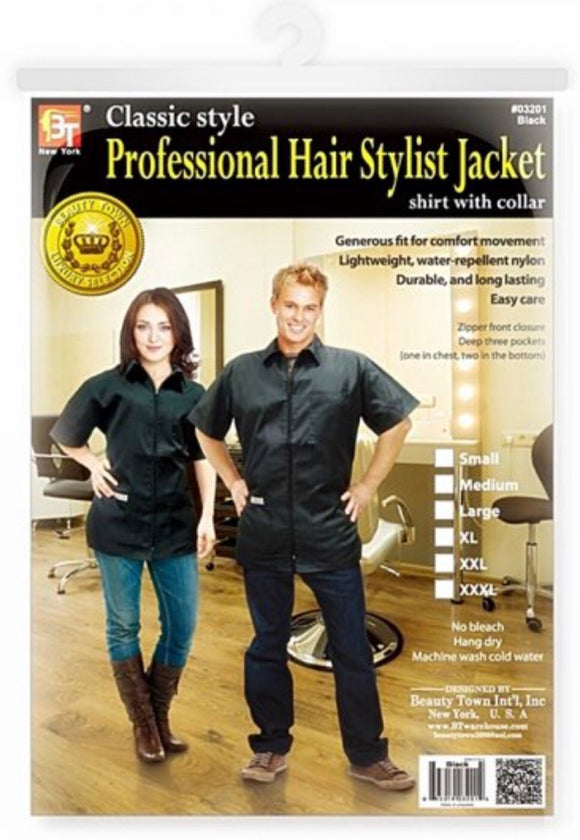 BT Professional Hair Stylist Jacket - Palms Fashion Inc.