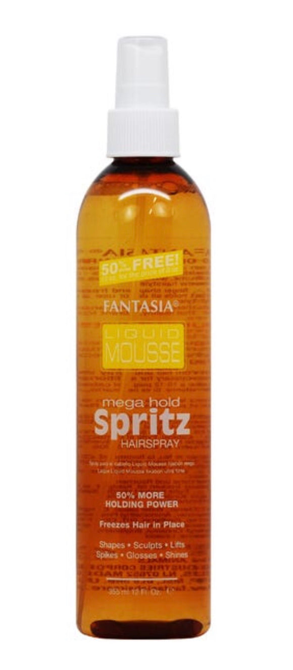 Fantasia Liquid Mousse Mega Hold Spritz 12oz - Palms Fashion