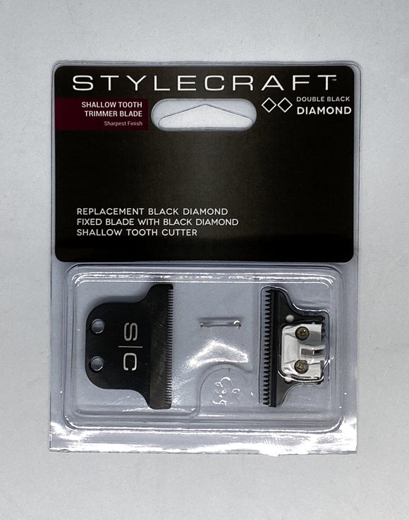 STYLECRAFT - SHALLOW TOOTH TRIMMER BLADE (DOUBLE BLACK DIAMOND)