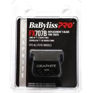 BabylissPro Replacement T-Blade Graphite Fine Tooth #FX707B - Palms Fashion Inc.