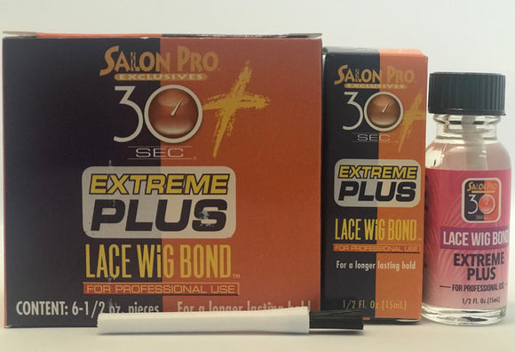 Salon Pro 30 SEC LACE EXTREME PLUS .5OZ - Palms Fashion Inc.