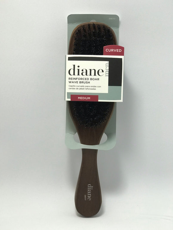 Diane Curved  Medium Wave Brush - 3 Kinds - Palms Fashion Inc.