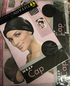 Challenger Satin Wrap Cap - Dozen Pack - Palms Fashion Inc.