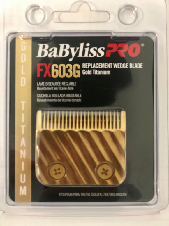 BABYLISS PRO GOLD WEDGE BLADE # FX603G