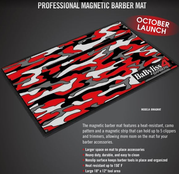 BabylissPro Professional Magnetic Barber Mat - #BMAGMAT - Palms Fashion Inc.