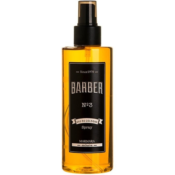 MARMARA EXCLUSIVE BARBER NO.3 EAU DE COLOGNE SPRAY 250 ML - Palms Fashion Inc.