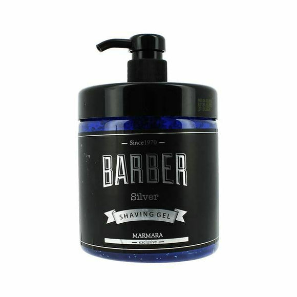 Marmara Barber Silver Shaving Gel 34oz 1000ml - Palms Fashion Inc.