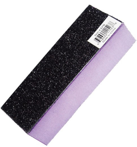 Lanell nail Buffer Black/Purple - 1 Pack - Palms Fashion Inc.