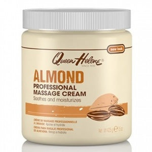 QUEEN HELENE ALMOND PROFESSIONAL MASSAGE CREAM 15 OZ - Palms Fashion
