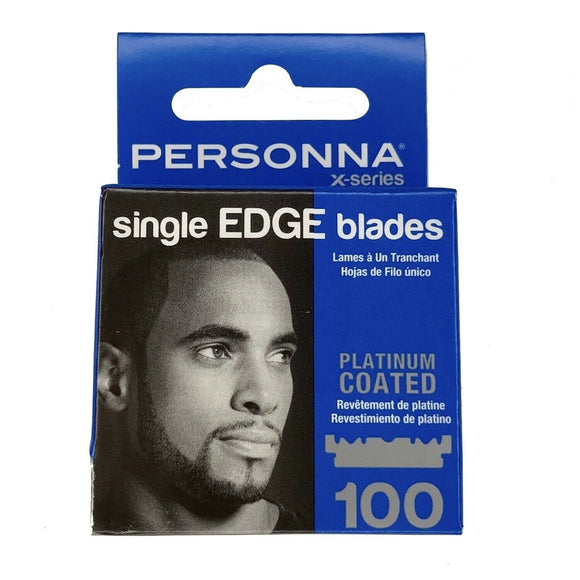 Personna X-Series Single Edge Blades - 100 Blades