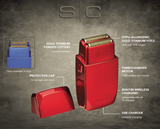 SC Wireless Prodigy Foil Shaver - Red