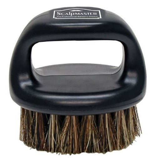 SCALP MASTER 100% BOAR BRISTLE BARBER BRUSH #SC-9048 - Palms Fashion
