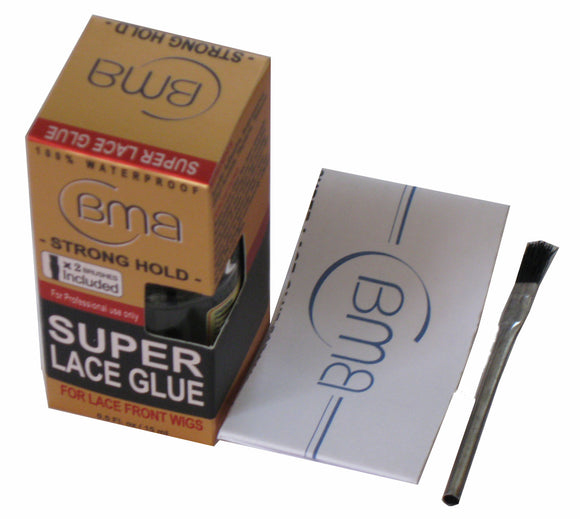 BMB SUPER LACE GLUE - SUPER HOLD 0.5OZ - Palms Fashion Inc.