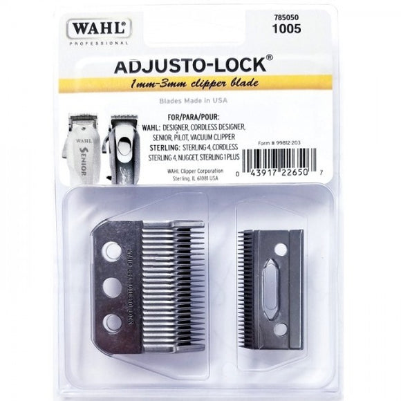 Wahl 3 Hole Adjusto-Lock Clipper Blade #1005 - Palms Fashion Inc.