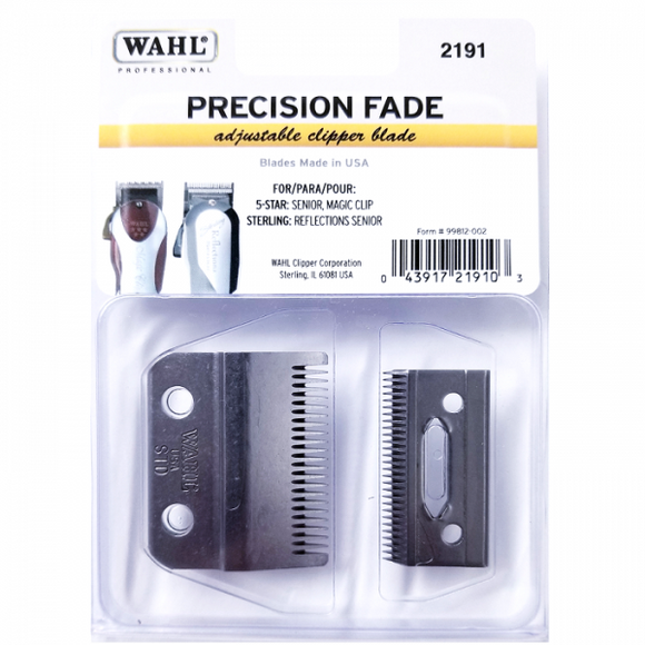 WAHL PRECISION FADE ADJUSTABLE CLIPPER BLADE # 2191 - Palms Fashion