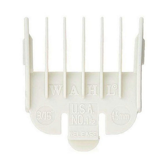 Wahl Color-Coded Clipper Guide Attachment comb White #1.5 - 3/16