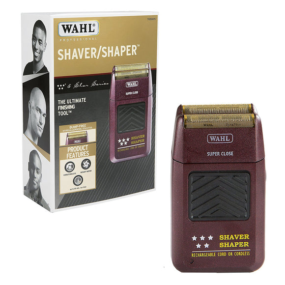 Wahl 5 Star Shaver Bump Free With BONUS FOIL #8061-100 - Palms Fashion Inc.