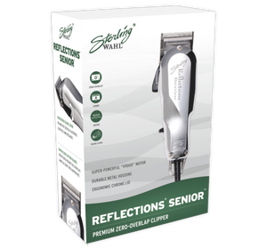 Wahl Sterling Reflections Senior Clipper #8501 - Palms Fashion Inc.
