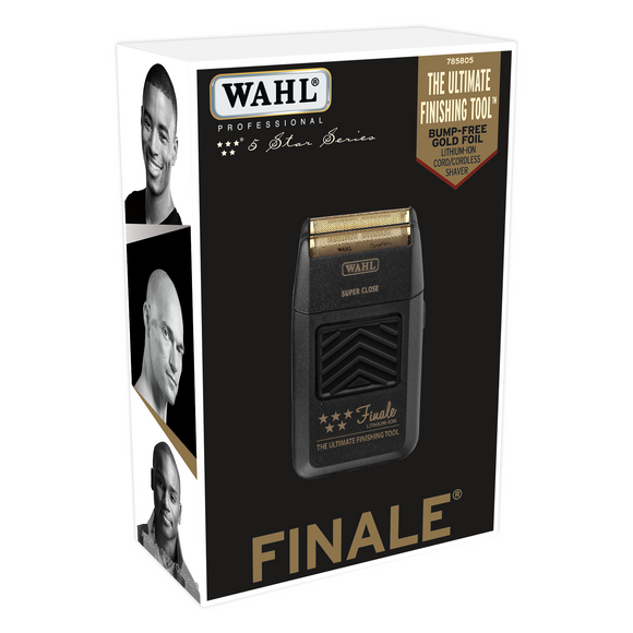 Wahl 5 Star Finale Super Close Shaver #8164 (Dual Voltage Charger) - Palms Fashion Inc.