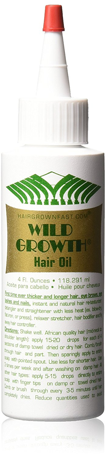 Wild Growth Hair Oil 4 oz - Palms Fashion
