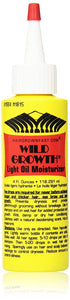 Wild Growth Light Oil Moisturizer 4 oz - Palms Fashion