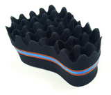 BT Tornado Coiler Hair Brush Sponge 2 Way with 12mm Hole #09926 - Palms Fashion Inc.