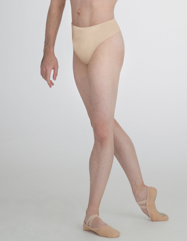 Capezio Men's Quilted Cotton Thong Dance Belt - Black or Natural