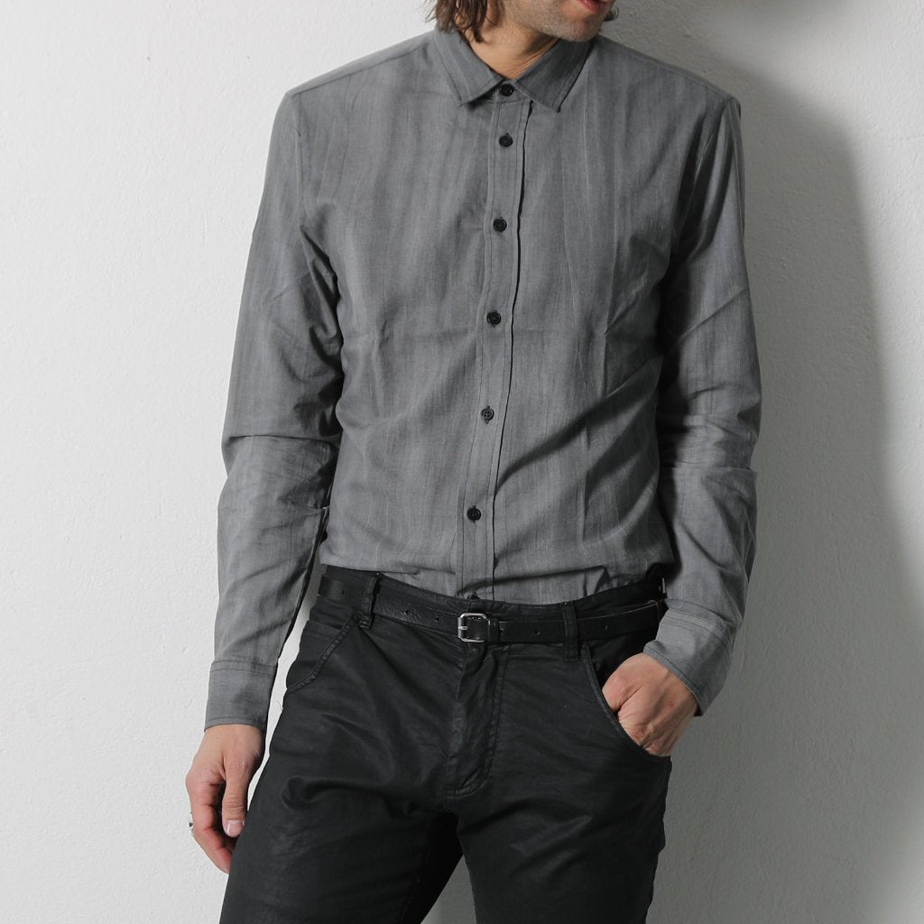 Long Sleeve Grey Shirt