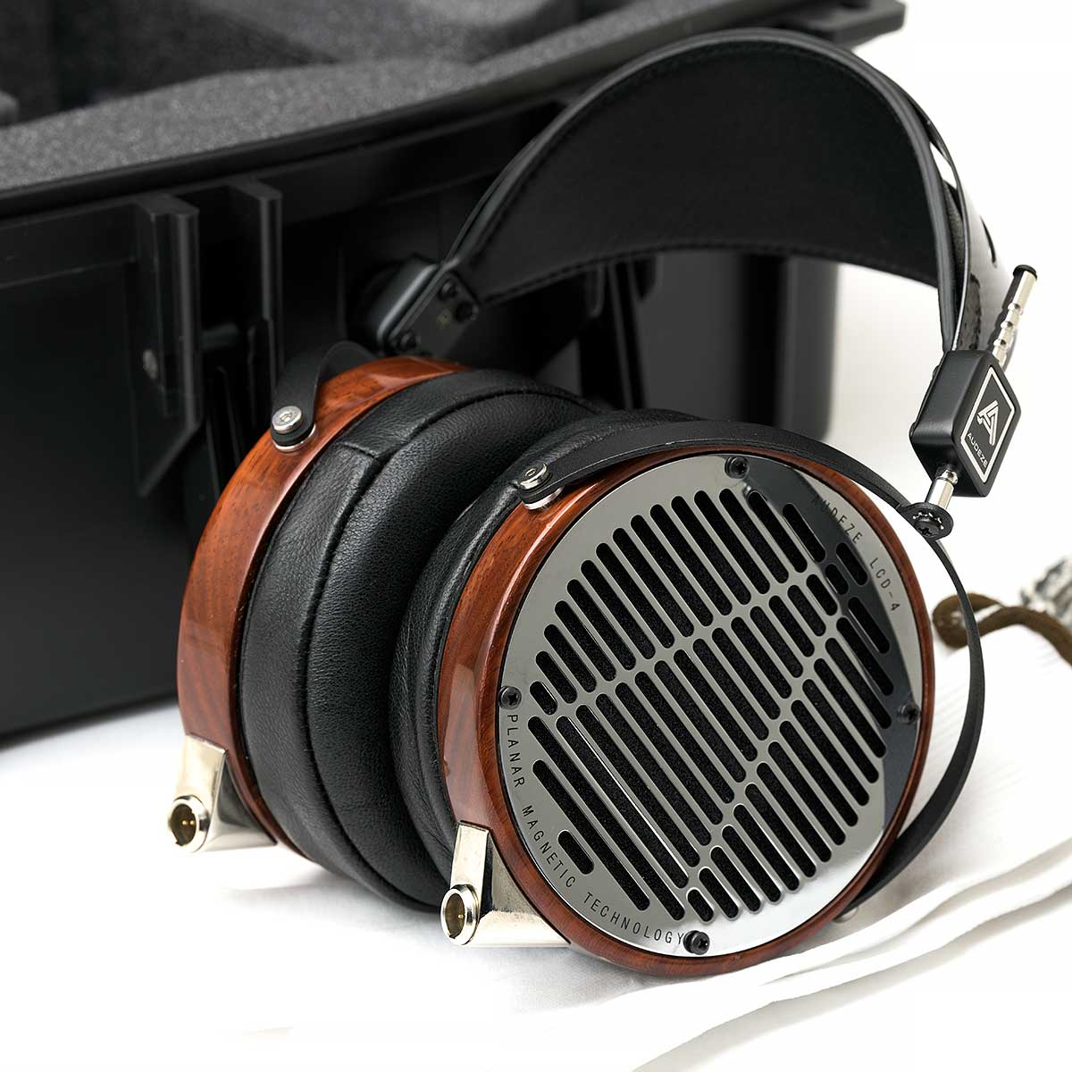 Audeze LCD-4 Bloodwood Open-Back Planar Magnetic Headphones