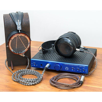 Satin Blue GS-X mini and Planar Magnetic Headphones
