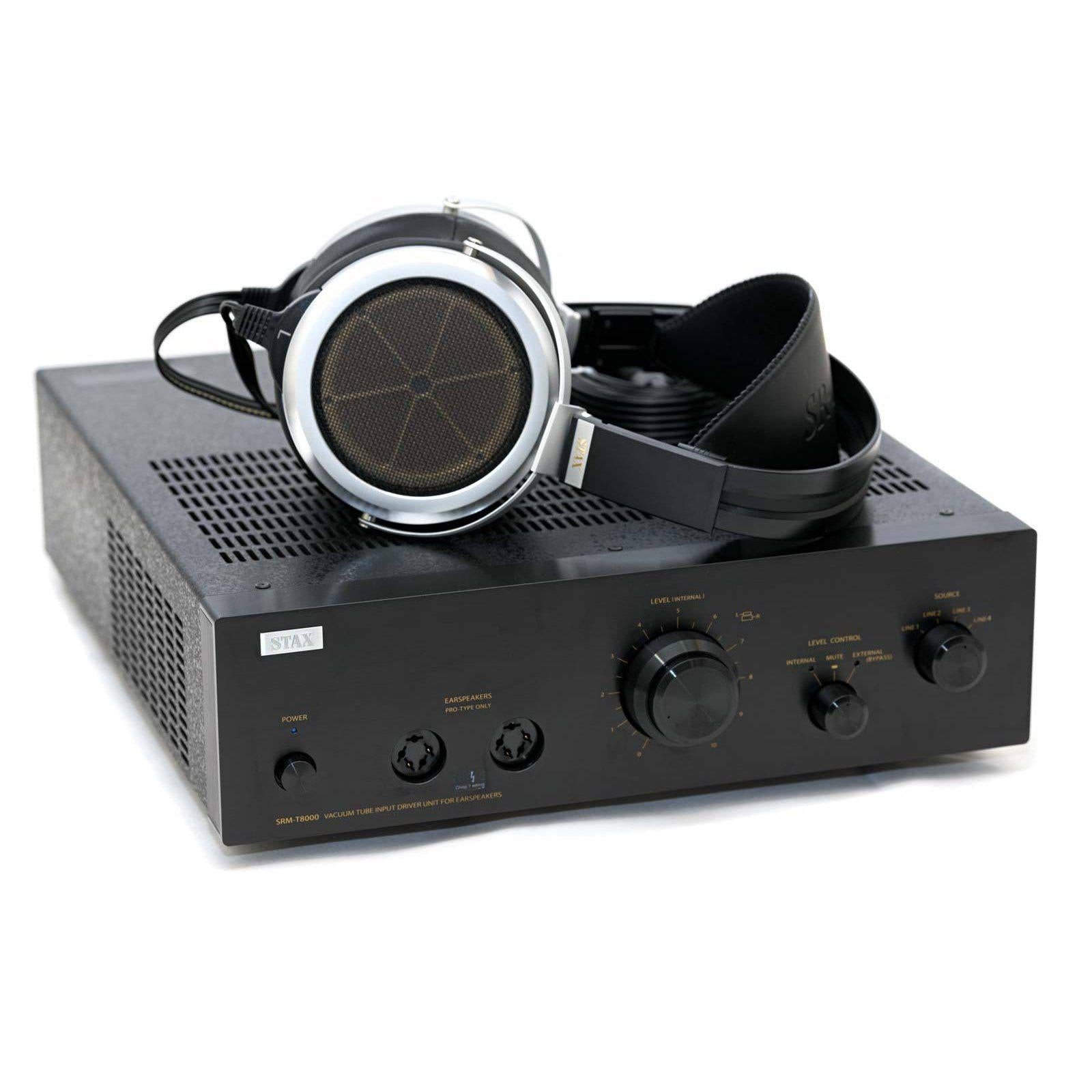 STAX SRM-T8000 Electrostatic Headphone Amplifier