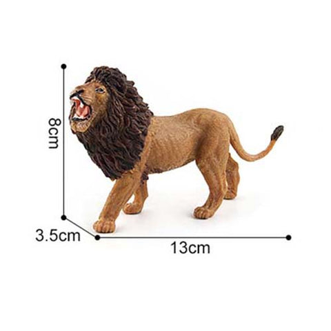 Lion Wild Animal Model Action Figures Africa Wild Family