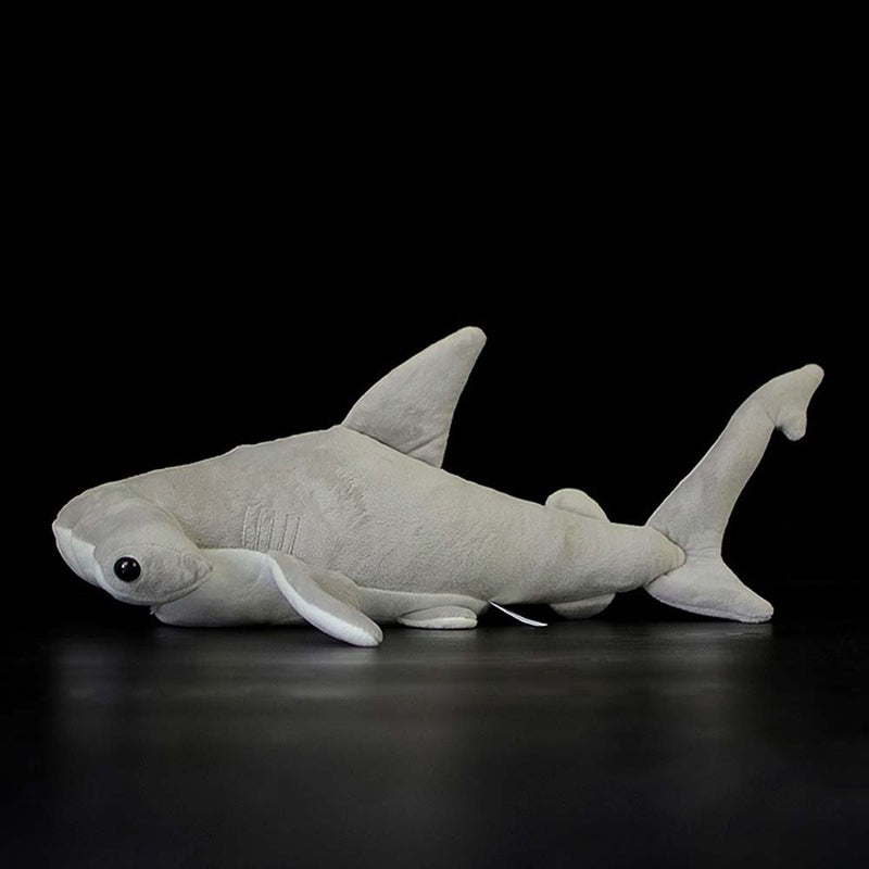 Side view of a Hammerhead Shark Plush