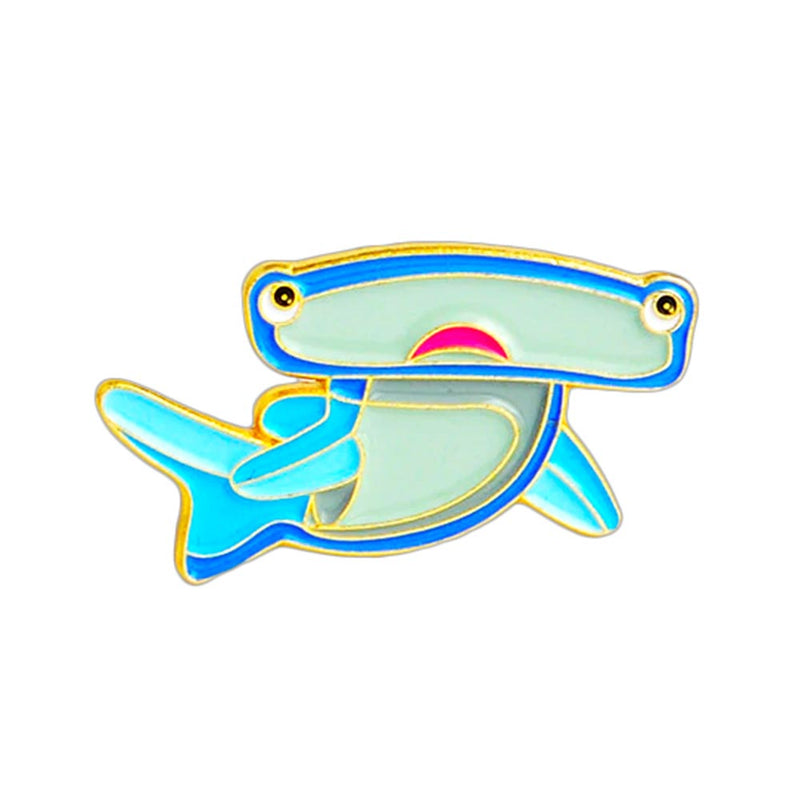 Cute Hammerhead Shark Pin
