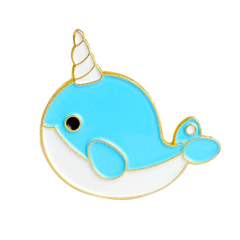 Cute Narwhale Pin