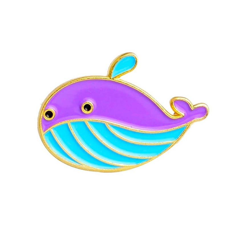 Cute Whale Brooch Pin