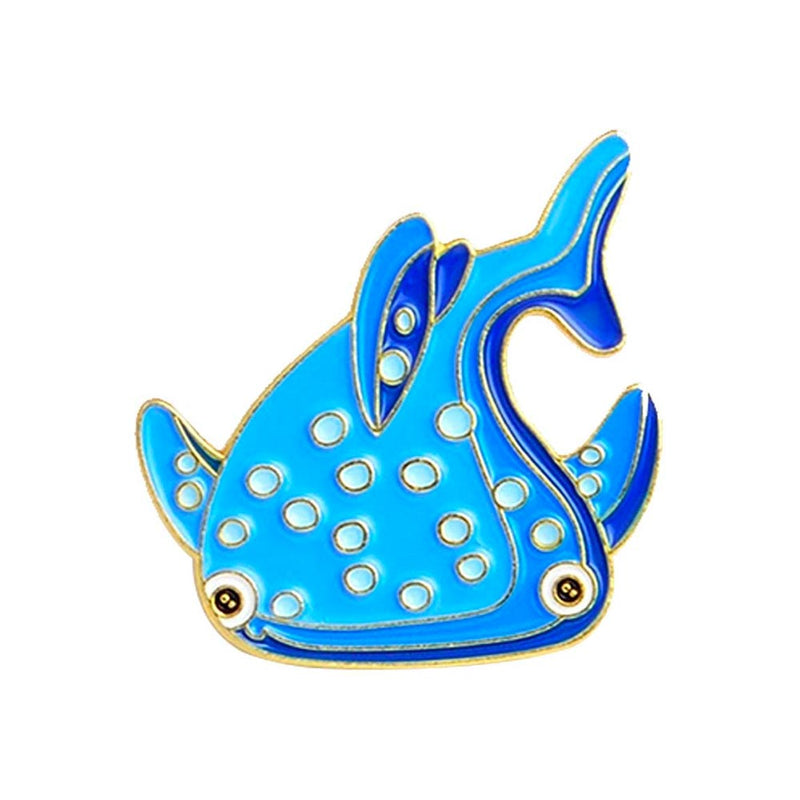 Cute Whale Shark Pin
