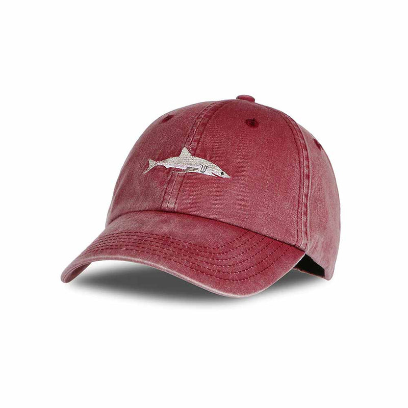 Shark Baseball Cap in Red