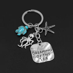 'Dreaming of the Sea' Ocean Keychain
