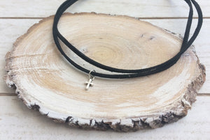CHOKER DOBLE CRUZ